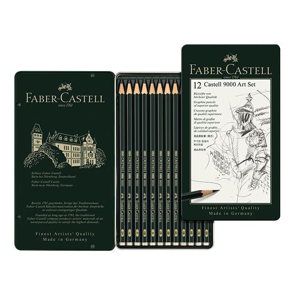 CASTELL 9000 Art-Set (weich)