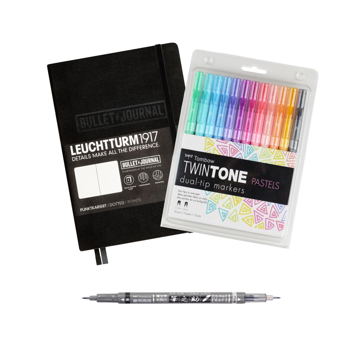 MeinStift - Bullet Journal Einsteiger Set mit Buch und Stiften