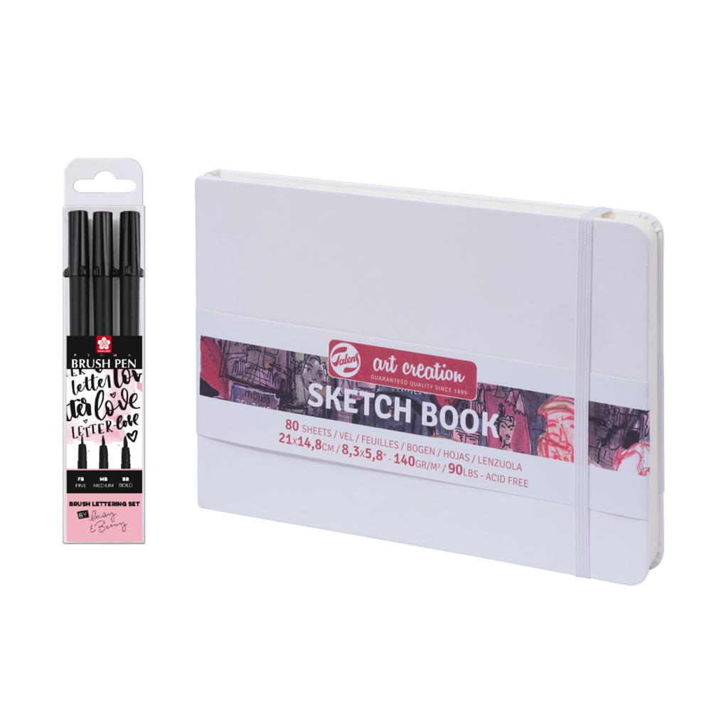 Talens - Sketch Book Starter Set