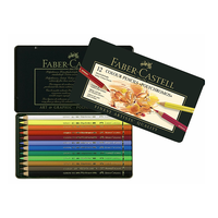 Faber Castell - Polychromos Künstlerfarbstifte 12er