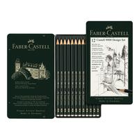 Faber Castell - CASTELL 9000 Design-Set (hart)