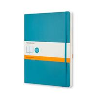 Moleskine - Classic Notebook Soft Large Unterwasser-Blau Liniert