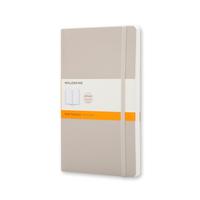 Moleskine - Classic Notebook Soft Large Khaki Liniert