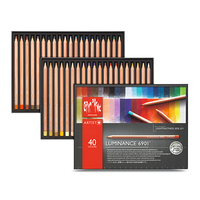 Caran d'Ache - Luminance 6901 Farbstifte 40er Set