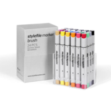 Stylefile - Marker Brush Set 24er Main A