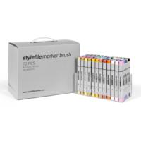 Stylefile - Marker Brush Set 72er Main A