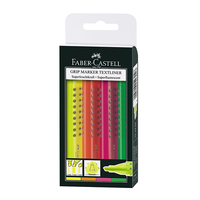 Faber Castell - Gripmarker Textliner 4er Etui