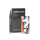 Stylefile - Marker Set 6er Try Out