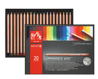 Caran d'Ache - Luminance 6901 Farbstifte 20er Set