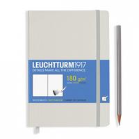 Leuchtturm1917 - SkizzenbuchMedium Weiss (A5)