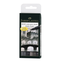 Faber Castell - PITT Artist Pen Brush Shades of Grey