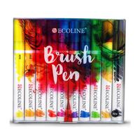 Talens - ECOLINE Brushpen - 10 Farben