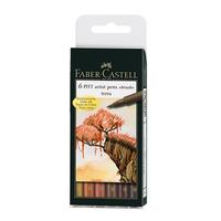 Faber Castell - PITT Artist Pen Brush Terra