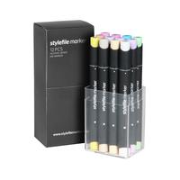 Stylefile - Marker Set 12er Pastell