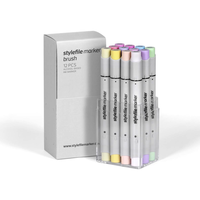 Stylefile - Marker Brush 12er Set Pastell