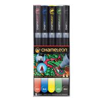 Chameleon - Pen Set - 5 Primary Tones