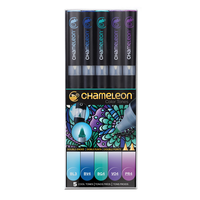 Chameleon - Pen Set - 5 Cool Tones