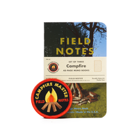 Field Notes - Notizbuch kariert Campfire Edition 3er Pack