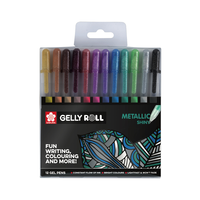 Sakura - Gelly Roll Metallic Shiny 12 Glitzerfarben