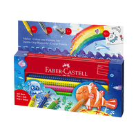 Faber Castell - Jumbo Grip MalsetUnterwasserwelt