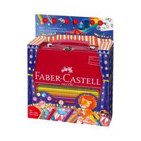 Faber Castell - Jumbo Grip Malset Geschenkkoffer Zirkus