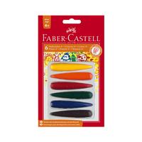 Faber Castell - Malkreide Vorschule Finger 6er Set bunt