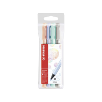 Stabilo - PointMax Filzschreiber Pastel 4er Set