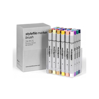Stylefile - Marker Brush Set 24er Main B