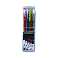 Pentel - Gel Roller Dual Metallic Effektstifte 4er Set