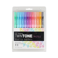 Tombow - Twintone Marker Dual-Tip Pastell
