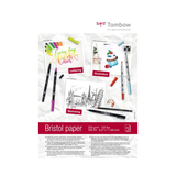 Tombow - Advanced Lettering Set 10-teilig mit Bristol Lettering Block