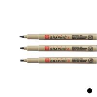 Sakura - Pigma Graphic Pen Einzelstifte schwarz