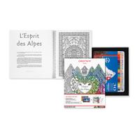 Caran d'Ache - Geschenkbox Kunsttherapie Wesen der Alpen
