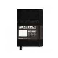 Leuchtturm1917 - Bullet Journal Medium Schwarz (A5) Dotted