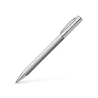 Faber Castell - Kugelschreiber gebürsteter Edelstahl