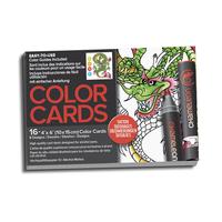 Chameleon - Color Cards Tattoo 16er Set