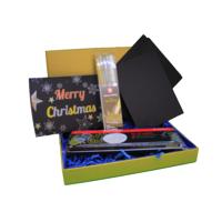 MeinStift - Weihnachts Kreativ Set metallic 19-teilig