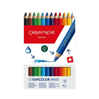 Caran d'Ache - Fancolor Maxi 12er Pack