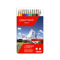 Caran d'Ache - Prismalo Aquarelle 12er Set