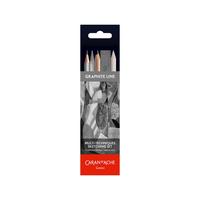Caran d'Ache - Graphite Line Sketching Pencils Kombi Set