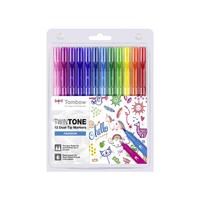 Tombow - Twintone Marker Dual-Tip Rainbow