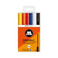 Molotow - Acryl Marker Basic Kit 6er Set