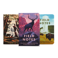 Field Notes - Notizbuch kariert National Park Set 1 - 3er Pack
