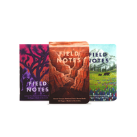 Field Notes - Notizbuch kariert National Park Set 2 - 3er Pack