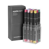 Stylefile - Marker Set 12er Multi 21