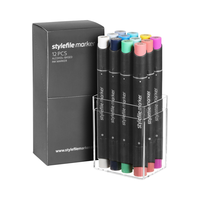 Stylefile - Marker Set 12er Multi 25
