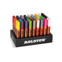 Molotow - Acryl Marker 227HS Complete Display 54er