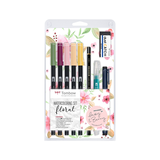 Tombow - Watercoloring Set Floral
