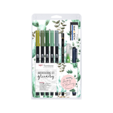 Tombow - Watercoloring Set Greenery