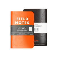 Field Notes - Notizbuch kariert Expedition Edition 3-pack
